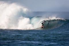 Lanzarote - 25 janvier 2016 : athlète en concurrence Images stock
