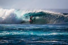Lanzarote - 25 janvier 2016 : athlète en concurrence Photographie stock libre de droits