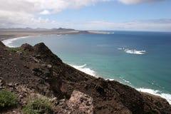 Lanzarote-Küste Lizenzfreie Stockfotos