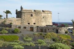 Lanzarote kanariefågelöar, Spanien royaltyfri fotografi