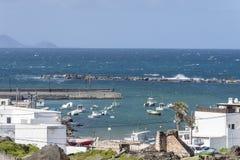 Lanzarote krajobrazy obrazy royalty free