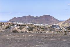 Lanzarote krajobrazy Zdjęcie Royalty Free