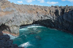 Lanzarote kust Stock Foto