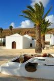 Lanzarote kyrka Royaltyfria Bilder