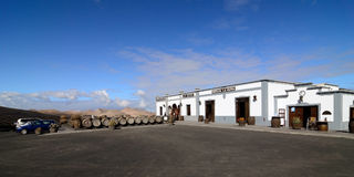 LANZAROTE, LA GERIA Royalty Free Stock Photo