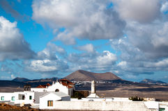 Lanzarote Landscape Royalty Free Stock Photo