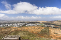 Lanzarote landscape Royalty Free Stock Photography