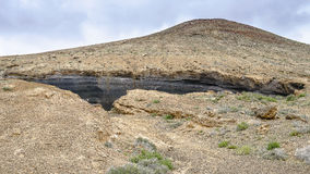 Lanzarote landscape Royalty Free Stock Images