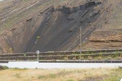 Lanzarote landscape Stock Photo