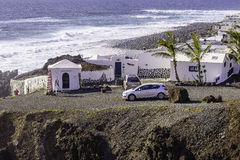 Lanzarote landscape Stock Photos