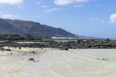 Lanzarote landscapes Royalty Free Stock Photos