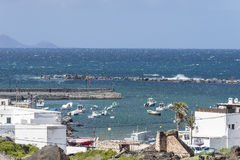 Lanzarote landscapes royalty free stock images