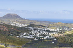 Lanzarote landscapes Royalty Free Stock Photography