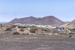 Lanzarote landscapes Royalty Free Stock Photo