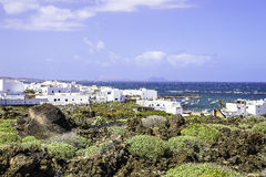 Lanzarote landscapes Stock Photo