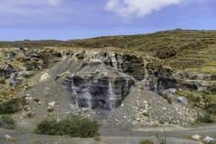 Lanzarote landskap Royaltyfri Fotografi