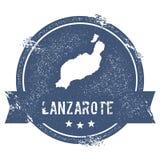Lanzarote-Logozeichen Lizenzfreie Stockfotografie