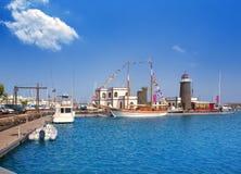 Lanzarote Marina Rubicon Playa Blanca Royalty Free Stock Image