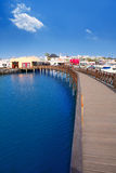 Lanzarote Marina Rubicon Playa Blanca Stock Images