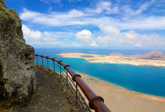 Lanzarote Mirador del Rio  Royalty Free Stock Image