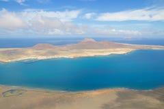 Lanzarote Mirador del Rio widok 002 Zdjęcie Stock