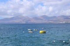 Lanzarote na kanarkach zdjęcie royalty free