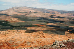 Lanzarote, panoramic view Stock Photography