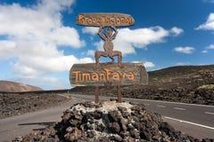 lanzarote park narodowy timanfaya Obraz Stock