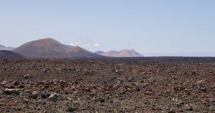 Lanzarote Powulkaniczny krajobraz 007 Obraz Stock