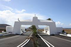 Lanzarote Road Stock Images