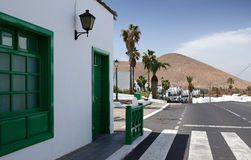 Lanzarote's architecture Royalty Free Stock Image