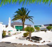 Lanzarote san Bartolome monumento Campesino Stock Images