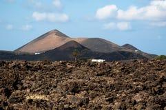 Lanzarote Scenery Stock Image