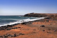 Lanzarote shore, Canary Island Stock Photography