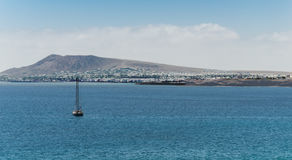 Lanzarote South Bay Royalty Free Stock Image