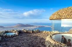 Panoramic view from El Mirador del Rio, Lanzarote. Canary Island Stock Photos