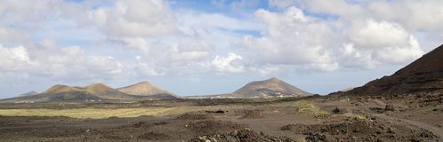 Lanzarote Stone Desert 1 Royalty Free Stock Photo