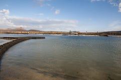 Lanzarote strand Arkivbilder