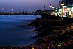 Lanzarote strand Royaltyfria Foton
