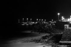 Lanzarote strand Royaltyfri Bild