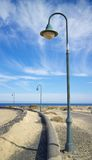 Lanzarote Street Lamp 1 Royalty Free Stock Photography