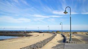 Lanzarote Street Lamp 2 Royalty Free Stock Photos