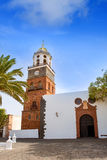 Lanzarote Teguise Nuestra Senora de Guadalupe church. In Canary Islands Royalty Free Stock Photography