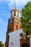 Lanzarote Teguise Nuestra Senora de Guadalupe church. In Canary Islands Stock Photo