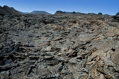 Lanzarote Timanfaya Fire Mountains volcanic lava Stock Image