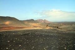 Lanzarote, Timanfaya Nationalpark Photo stock