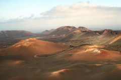 Lanzarote, Timanfaya Nationalpark Royalty Free Stock Photography