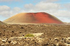 Lanzarote, Timanfaya volcanic park Royalty Free Stock Photography