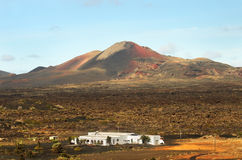 Lanzarote, Timanfaya volcanic park Stock Images