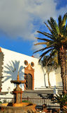 Lanzarote townscape Arkivbilder